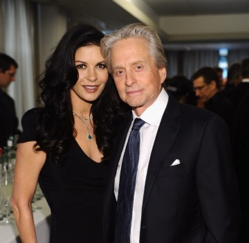 Catherine and Michael Douglas