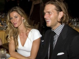 Gisele Bündchen and Tom Brady