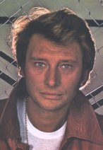Singer and actor Johnny Hallyday