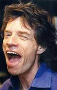 Rock Star Mick Jagger