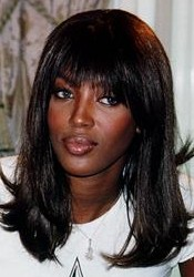 Naomi Campbell, the black panther