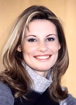 Miss France 1998 and TV host Sophie Thalmann
