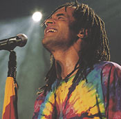Singer and former tennisman Yannick Noah