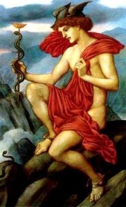 Mercury, also referred to as Hermes, symbolises your intellect