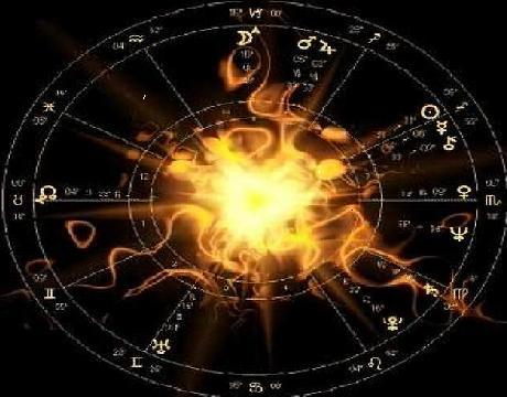 The Zodiacal Wheel: in astrology, the Earth is at the center