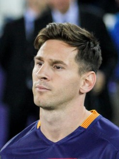 Lionel Messi, a Cancer man with Gemini dominant