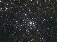According to Ptolemy, M21 Spiculum is of the nature of Mars and the Moon. Spiculum is an evil star and may cause blindness or problems with the eyes.