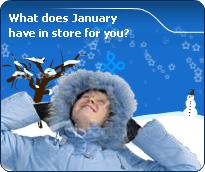 Detailed January Forecast