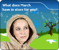 Your Detailed March Forecast