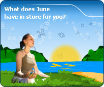 Your detailed June forecast