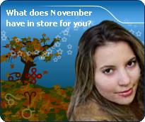 Detailed November Forecast