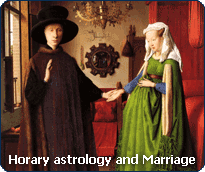 Horary astrology: consult the Horary Oracle about your couple.