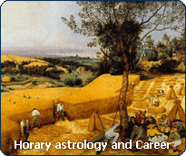 Horary astrology: consult the Horary Oracle about your professional prospects.
