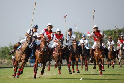 Polo, one of the sports Sagittarius enjoys