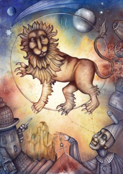 The Zodiac and the festivals for Leo, Leo rising, the Sun dominant, or strong 5th House