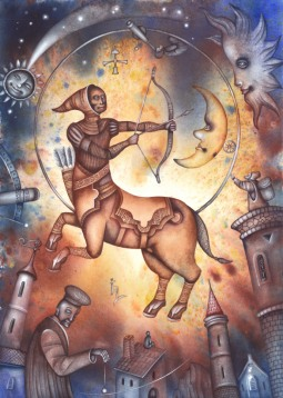 The Zodiac and the festivals for Sagittarius, Sagittarius rising, Jupiter dominant, or strong 9th House